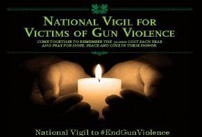 National Vigil for Victims of Gun Violence
