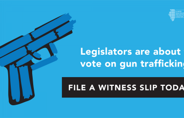 URGENT ACTION ALERT – FILE A SLIP TO STOP ILLEGAL GUN TRAFFICKING
