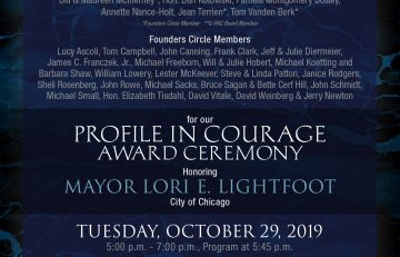 G-PAC Profile In Courage Event – October 29, 2019